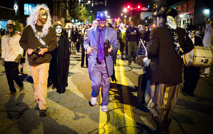 wild rumpus parade returns to athens for halloween weekend