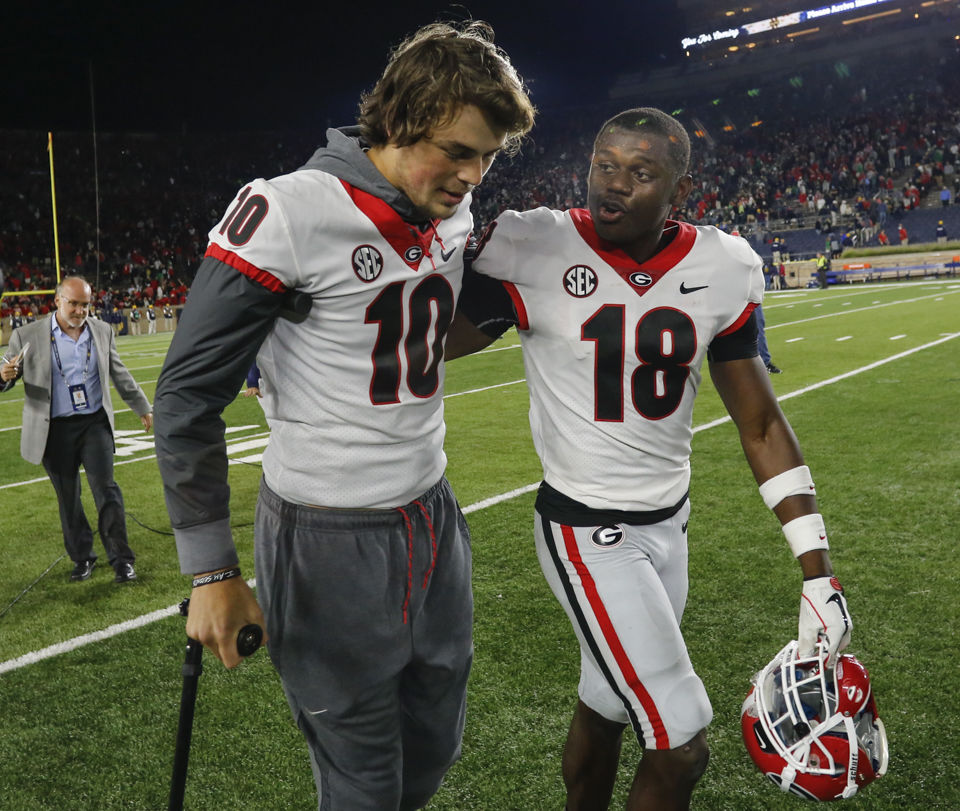 Georgia's kickoff time set for Mississippi State
