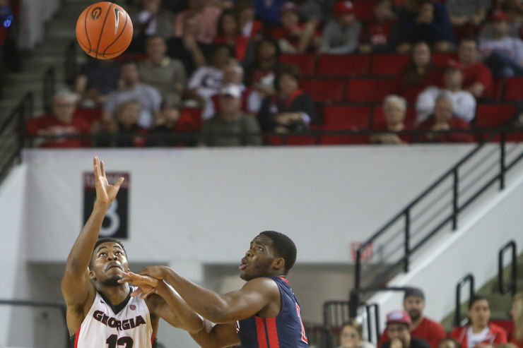 Photo Gallery: Men's Basketball defeats Robert Morris ...