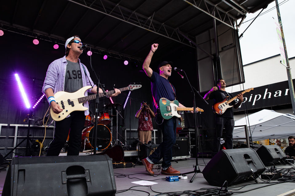 Dreams So Real concludes 23rd AthFest with old school rock 'n' roll