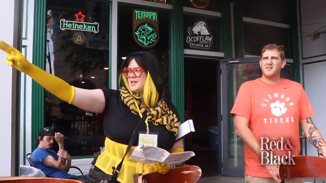VIDEO: Fans wave their wands in the air for the Third Annual Wizard Pub Crawl in downtown Athens