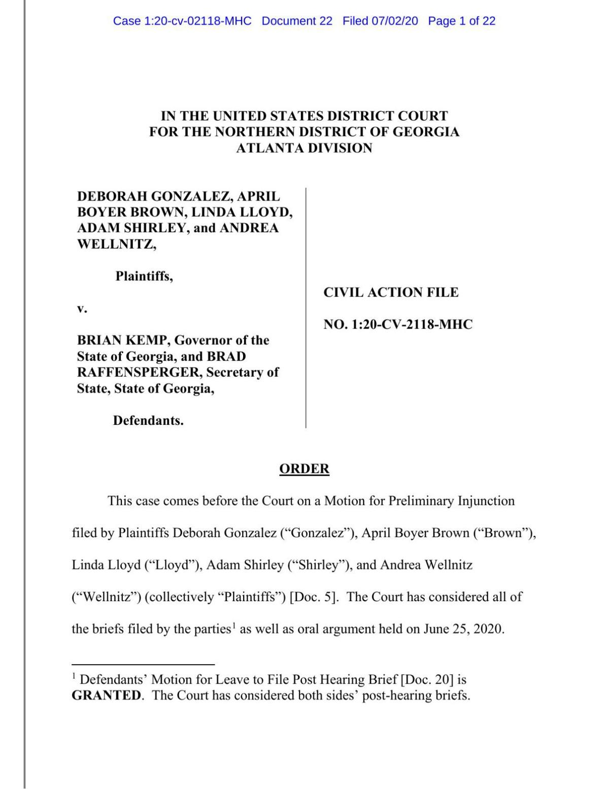 district attorney court ruling