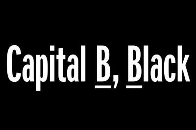Capital B, Black_graphic