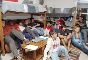 DORMS AFTER DARK: Campus halls create community for residents ...