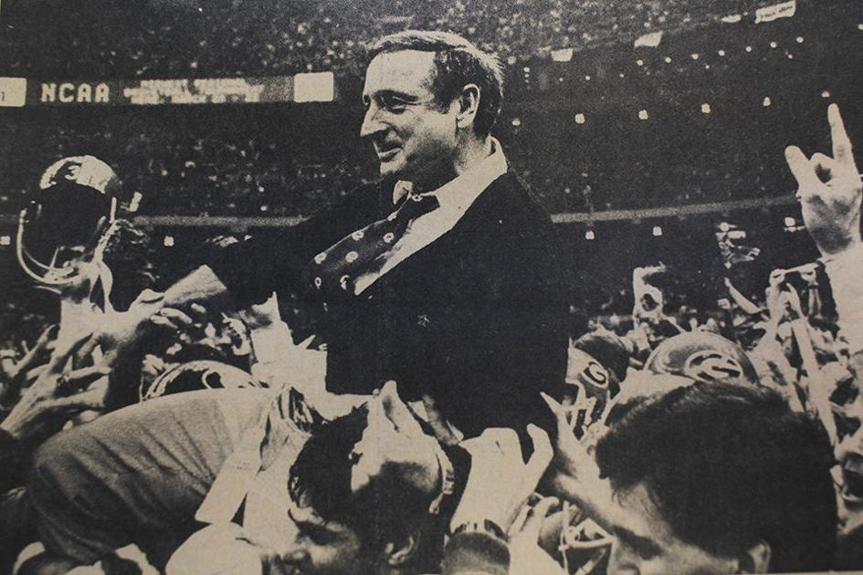 Eerie Similarities Former Georgia Head Coach Vince Dooley