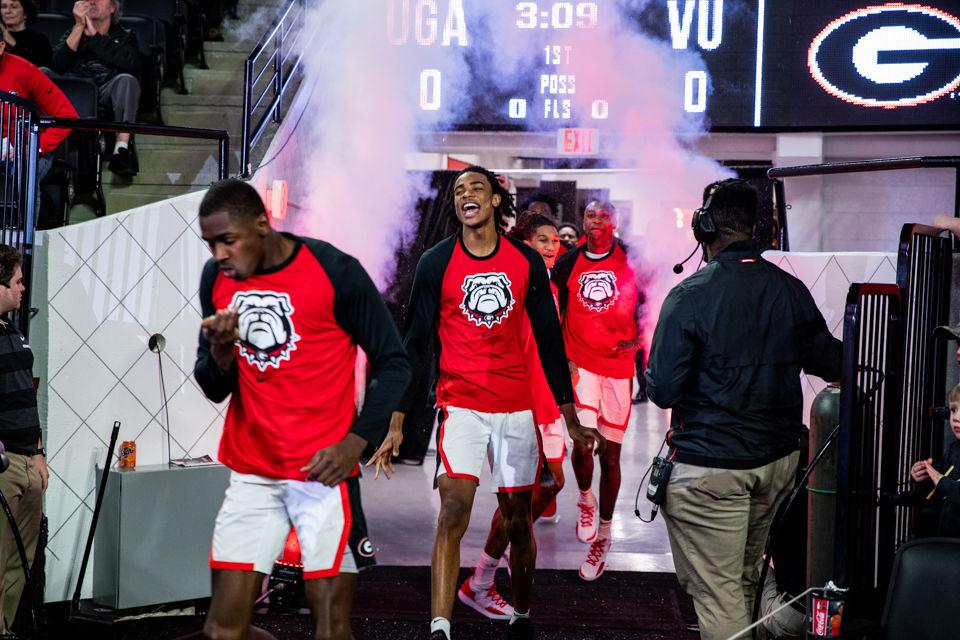 Uk Basketball: PHOTOS: UGA Men's Basketball Defeats Vanderbilt, 82-63