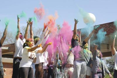'Happy Holi': Colorful celebration aims to create home away from home for international students