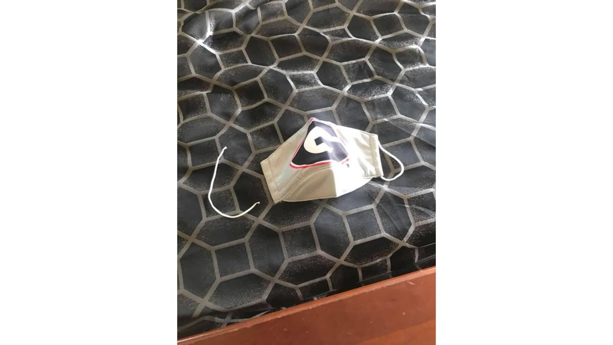 overheard broken mask