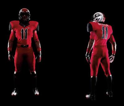 official photos 05535 8aed2 PHOTO: Nike reveals Bulldogs' Pro Combat uniforms | Sports ...