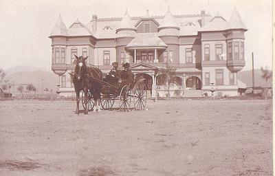 The Mentone Hotel in 1892.