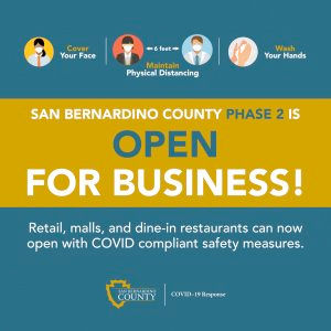 County lets some businesses reopen.