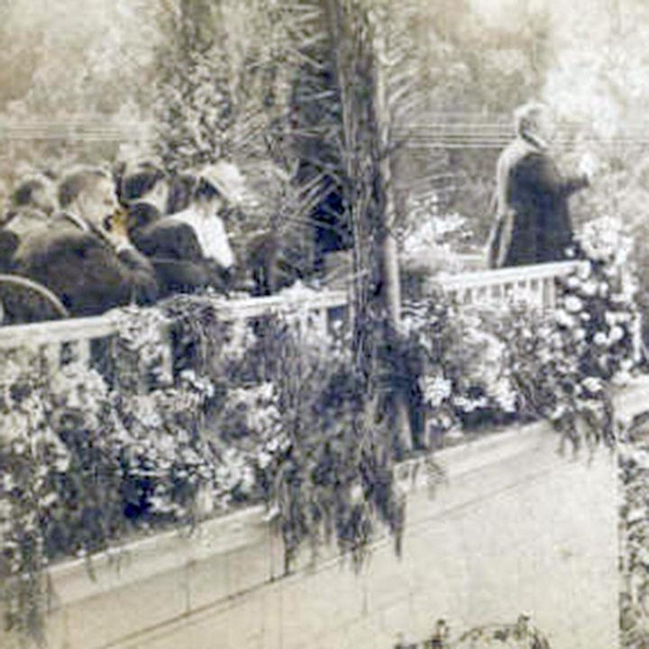 President William McKinley in Redlands.