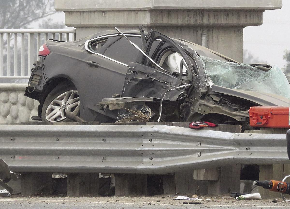 Fatal crash on the Boulder Bridge