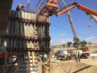 New column for the Base Line bridge.