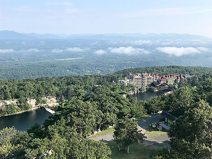 The Mohonk Lake view
