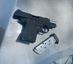 Loaded handgun