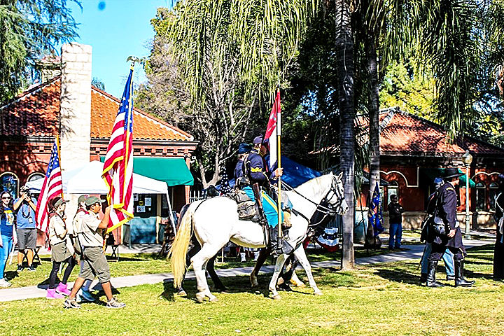 The 81st annual Lincoln Pilgrimage on Saturday.