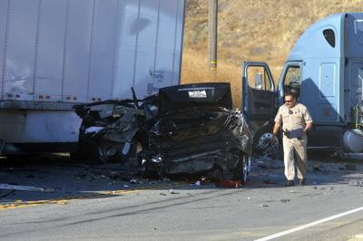 Fatal head-on collision in Redlands