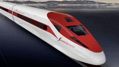 The Redlands Passenger Rail Project will provide a connect to a bullet train to Las Vega.