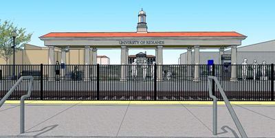 The University of Redlands station.