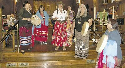 Trinity Episcopal holds Native American worship service
