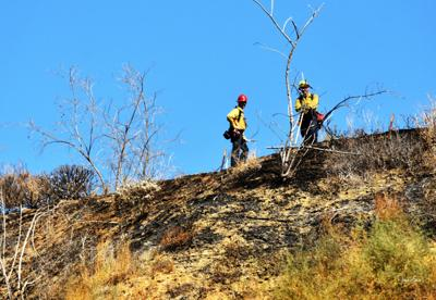 Bruder Fire had burned 170 acres as of Friday morning.