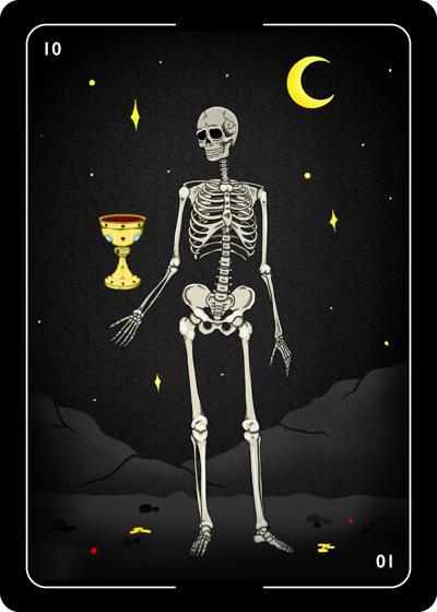 """Jackie Hernandez's """"Skeleton Cup"""""""