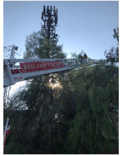 Workers rescued after being stranded 65 feet above ground