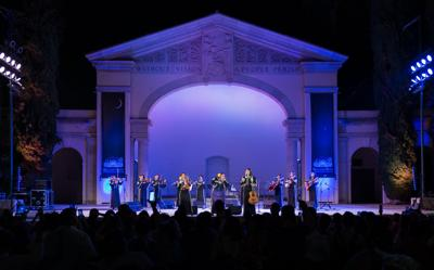 Mariachi Divas 2019 Redlands Bowl to presented on Facebook at 8 tonight.