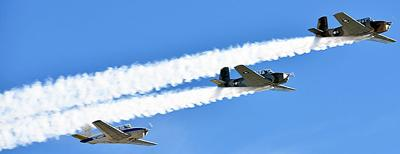 Air shows to merge.