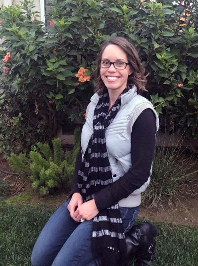 Breanna Andrews, sign language professor.