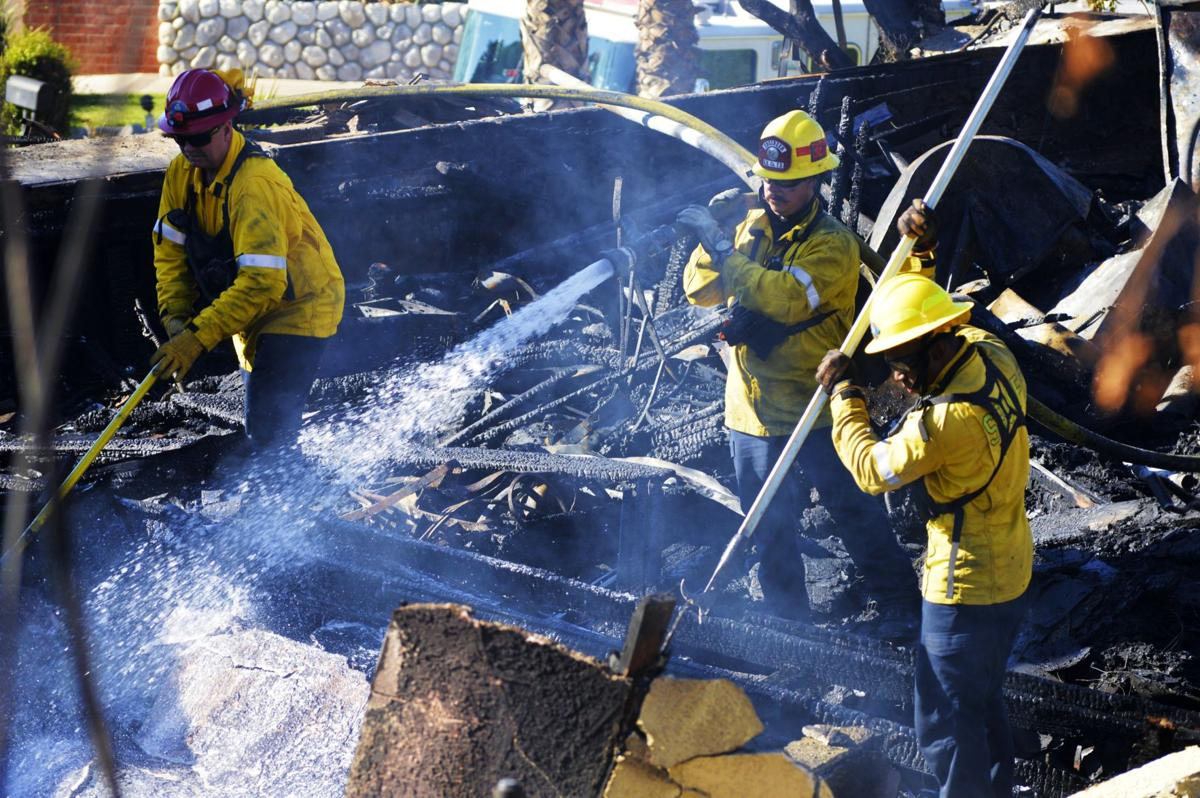 Hillside Fire in San Bernardino now 70 percent contained