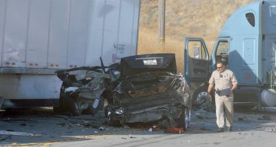 Victim of head-on collision in Redlands ID'd