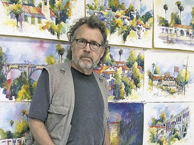 Featured artist portrays Redlands landmarks