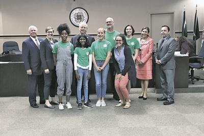 Sister City travelers pose with the Redlands City Council