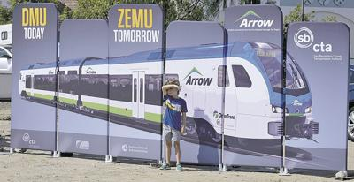 By 2024, the Redlands Rail Arrow train could be powered by hydrogen.