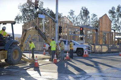 Work continues on the Redlands Passenger Rail Project