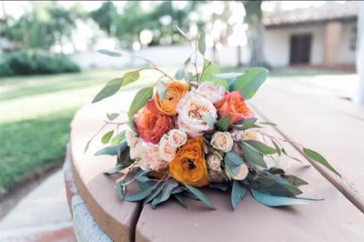 Flowers for the wedding.