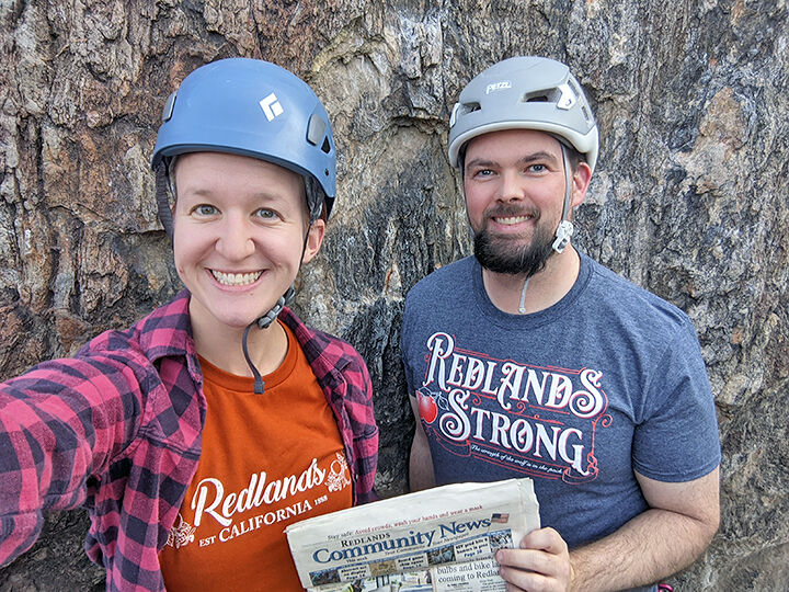 Redlands Community News joins rock-climbing adventure.