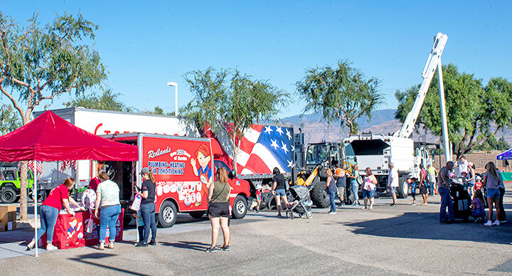 The 7th Annual Redlands Touch A Truck Event
