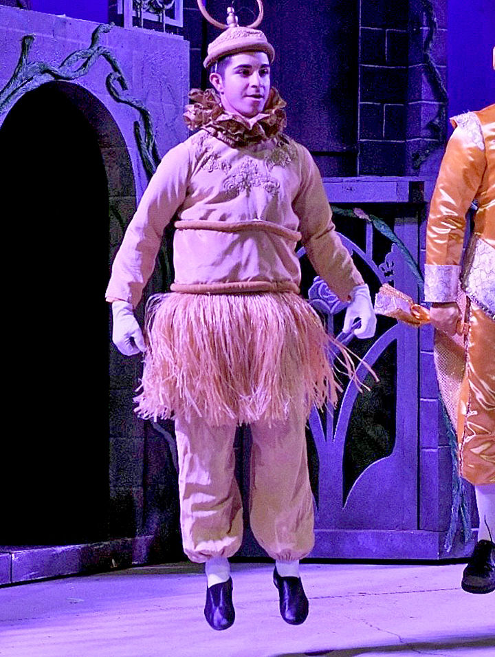"""Charlie Orozco in """"Beauty and the Beast."""""""