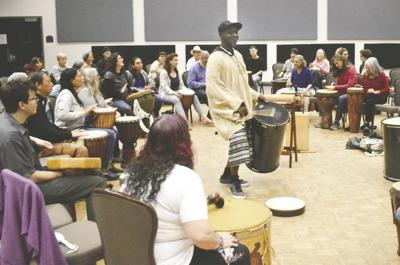 African drum circle series offers meditative, community-building experience at University of Redlands