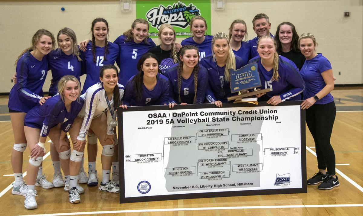 Ridgeview wins first volleyball title