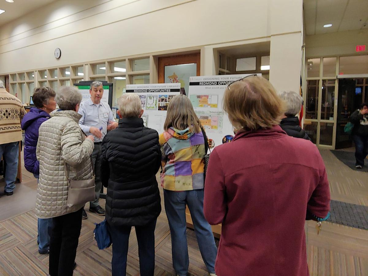 As Redmond Library looks to expand, fundraising group expected to be forced out