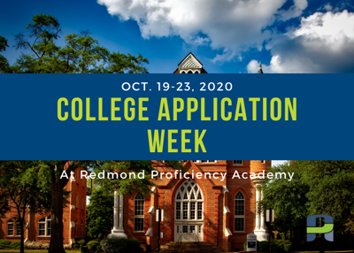 College application week logo