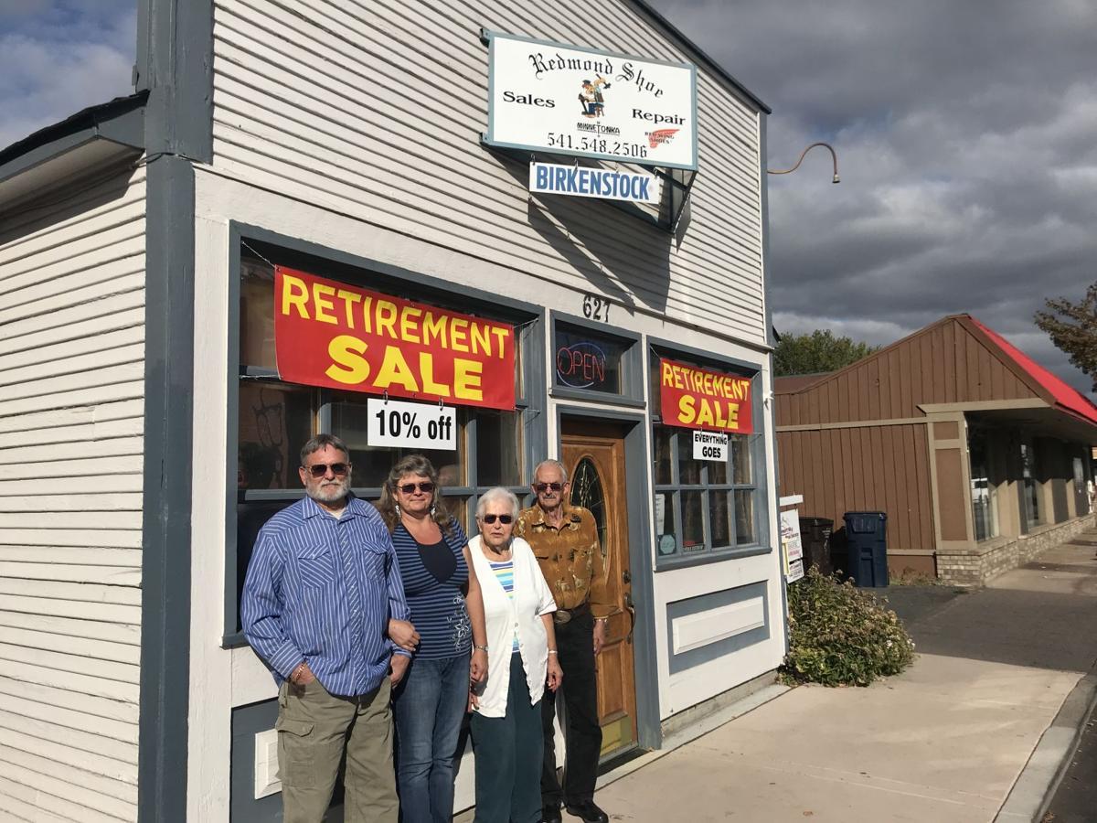 Shoe repair business owners retiring