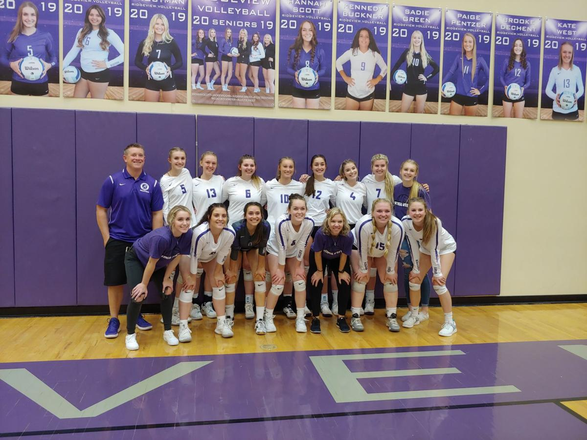 Ridgeview returns to state volleyball tournament for second consecutive season