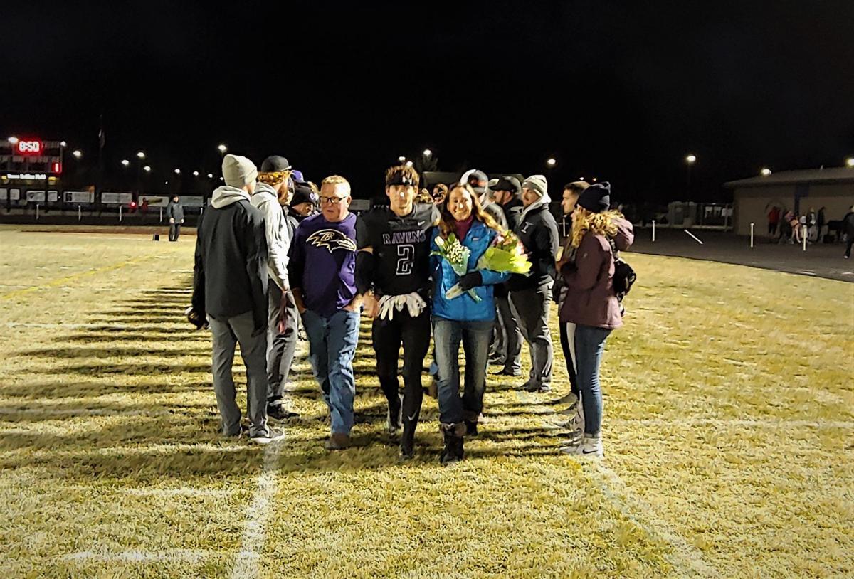 Photos: Ridgeview football senior night