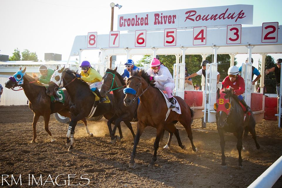 Crooked river horse races