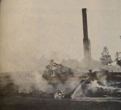 Roberts Field fire 1969
